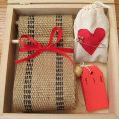 Growth chart in a box~Cute as babyshower gift~