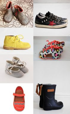 {1. marque italienne 2. golden goose 3. bisgaard in yellow 4. via 5. handmade baby 6. ballerina 7. bisgaard} Being raised by a father who had is own shoe company for kids probably explains my passion for shoes .... I...