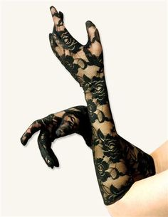 GLAMOROUS GLOVES (SOIREE- LACE) >> Victorian Trading Co >> $12.95