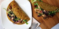 Low Carb Flax Tortillas | Ruled Me