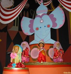 It's a Small World ride at Disneyworld, loved it when I was a kid, still my favorite as an adult!