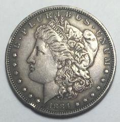 90 Silver 1884 Morgan Silver Dollar Take A Look | eBay