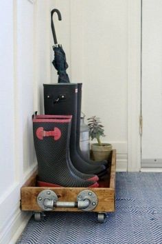 Although it may not be the most glamorous, the entryway is one of the hardest working spots in your home