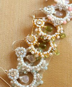 Edera Handcrafted Lace Jewelry Now Available at Allyson James