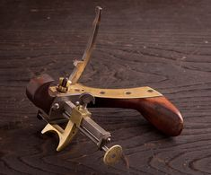 Incredible Signed and Dated Coachmaker's Plow Plane C. HABERECHT 1891