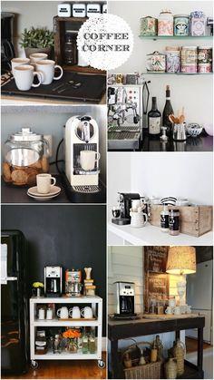 Coffee corner inspirations.