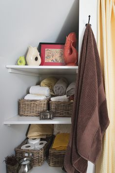 Any small space can be maximized for storage.