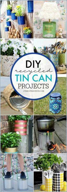 Tin Can Hacks and DIY Ideas