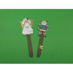 #Lesezeichen, Basteln Kinder #Weihnachten, #Bastelidee, #Weihnachtsgeschenk basteln: http://www.trendmarkt24.de/bastelideen.basteln-kinder-weihnachten.html#p