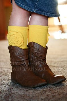 Cutest socks for boots