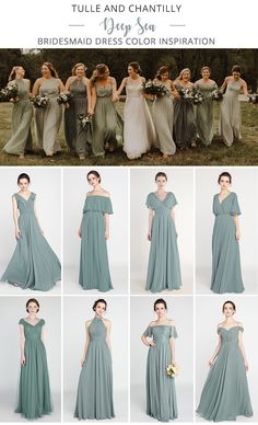 Tulle and Chantilly Deep Sea Bridesmaid Dresses 2019 # Wedding Inspiration . tulle and chantilly deep sea bridesmaid dresses 2019 tulle and chantilly deep sea bridesmaid dresses 2019 Green Bridesmaid Dresses, Wedding Bridesmaids, Wedding Dresses, Allure Bridesmaid, Wedding Color Schemes, Wedding Colors, Wedding Styles, Wedding Venue Inspiration, Wedding Ideas