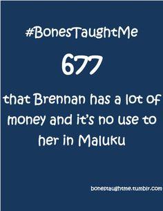 Submit your own #BonesTaughtMe: http://bonestaughtme.tumblr.com/ask