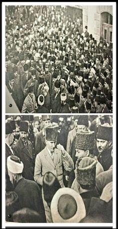 Millet aşkıyla dolu, fedakarlığı ve örnek karakteri ile Türk milletinin gönlünde taht kuran adamdır benim Ata'm...