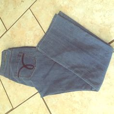 Calvin Klein jeans Light wash soft feel and can be dressed up or down size 28/6p Calvin Klein Jeans Boot Cut