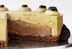 Karen Blixen Cake With Coffee Mousse, Mocha Truffle With Roasted Hazelnuts & A Chocolate Bottom