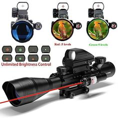 UUQ C4-12X50 AR15 Rifle Scope Dual Illuminated Reticle W/ Red Laser and Holographic Dot Sight (12 Month Warranty) review - http://www.bestseller.ws/blog/camera-and-photo/uuq-c4-12x50-ar15-rifle-scope-dual-illuminated-reticle-w-red-laser-and-holographic-do http://riflescopescenter.com/nikon-monarch-review/