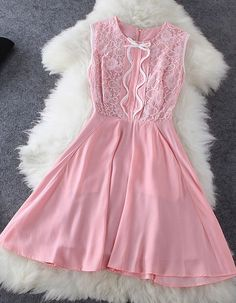 Bow Lace Dress