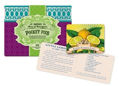 Studio Oh Mini Box of Recipes, Pocket Pies * Want to know more, click on the image.