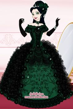 Emerald Princess by FoliaBelladonna ~ Disney Dress Up