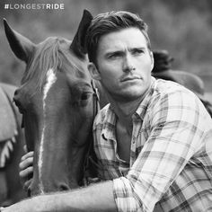 Pin for Later: The Sexiest Pictures of Scott Eastwood in The Longest Ride Who literally rides horses. Sigh.