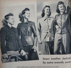 Learn the history of women's classic vintage coats such as the trench, box, swagger, or fur coat plus where to shop for style coats online. Vintage Leather Jacket, Vintage Fur, Leather Jackets, Coats For Women, Jackets For Women, Polo Coat, 1940s Outfits, Hiking Jacket, Types Of Jackets
