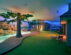 """From Metropolis Magazine...""""This 16,000-square-foot bomb shelter—complete with ranch house, guesthouse, pool, yard, and barbecue—may be that era's most surreal expression."""""""