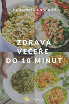 food_drink - Zdravá večeře do 10 minut! Diet Recipes, Cooking Recipes, Healthy Recipes, Healthy Snacks, Healthy Cooking, Healthy Eating, Eat Smart, Slow Food, Lunches And Dinners