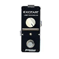 Looper easy simple straight Loop recording pedal EXCITANT Maximum recording limit 15 minutes No overdub limit pedal by Aroma Music brand Tomsline Engineering -- Click image to review more details.Note:It is affiliate link to Amazon.