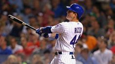 Anthony Rizzo is our top #mlb #dfs #fantasybaseball play tonight! Check us out for more fantasy picks!