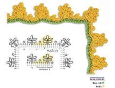 Crochet Edging - Chart