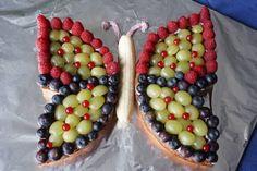 Geburtstagskuchen ohne Zucker - Schmetterling von breifreibaby