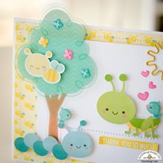 Gooood morning Doodlebug lovers!!!! Courtney Lee from Court's Crafts  here with some of the happiest cards ever.         When I saw this co...