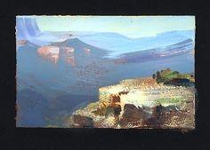 Nathan Fowkes, Land Sketch: A few more Grand Canyon sketches.