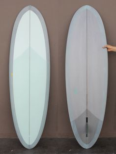 """6'3 Travis Reynolds Egg I think the most fun board I ever had was a 5'2"""" G and S Egg."""