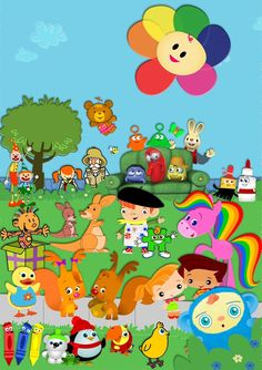 Introducing Baby first T.V. characters!!  I'll name a few for you guys!!! There so cute & funny you'll instantly fall in love with them! There's Harry the bunny, Peek-a-boo,Rainbow horse,The Notekins,Tilly the duck & Bonnie bear! There all so special all to my little one! I'm sure your little one will fall in love with them as well! Check out Baby First T.V.