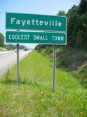 "Fayetteville, West Virginia: Voted  AMERICA'S ""Coolest Small Town"""