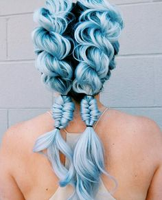 How to care for pastel hair tips for pastel pink hair fresh. Hair coloring inspirational using outstanding heres every hair color kylie jenner has ever worn her campus. Spectacular pastel blue hair color inspirations for hair coloring. Dye My Hair, New Hair, Pretty Hairstyles, Braided Hairstyles, Trending Hairstyles, Hairstyle Ideas, Blue Hairstyles, Mermaid Hairstyles, Latest Hairstyles