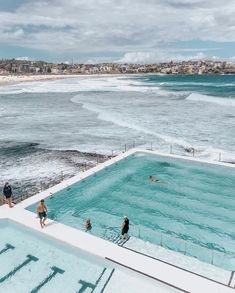 Icebergs club swimming pool Bondi Beach Sydney NSW Australia sydney guide t Coogee Beach, Bondi Beach Sydney, Sydney Beaches, Airlie Beach, Manly Beach Sydney, Bondi Beach Australia, Sydney Australia Travel, Australia Honeymoon, Melbourne Australia