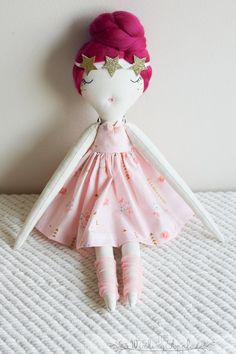 The Winking Apple Heirloom Doll
