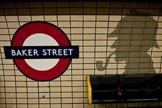 Estación de metro de la mítica Baker Street.