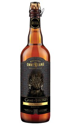 Game of Thrones brew by Brewery Ommegang  ~ Designed by Brewery Ommegang, Cooperstown, N.Y
