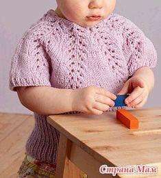 Детская кофточка из японского журнала вместе - Вяжем вместе он-лайн - Страна Мам