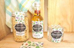 kit gourmet (granola salgada, azeite e sal light de ervas)