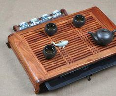 Rosewood Tea Tray Displaying And Serveing Tea Tea Tray Handicraft Chinese Kung-Fu Tea Set Chinese Teaism Practice
