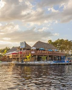 The Boathouse Tiki Bar & Grill is located at the Cape Coral Yacht Club & is open from 8am to 10pm daily. Cape Coral, Florida