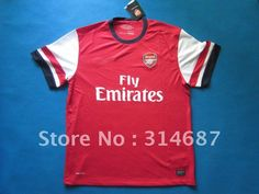 wholesale 12/13 TOP Thailand quality Arsenal home soccer jerseys,Soccer tops,embroidered logo,Dry-Fit on AliExpress.com. $95.00