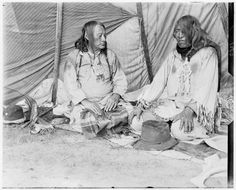 Spotted Eagle, Big Smoke - Blackfeet (Pikuni) - 1903