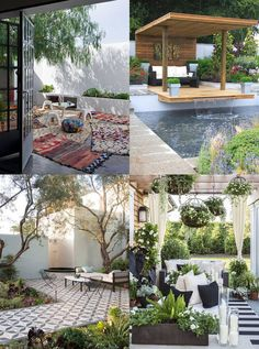 """Patio Design Ideas to outshine the neighbours - Hutsly. The Joneses have got new garden furniture; and they're bragging about it. Of course your competitive self is thinking: """"I could do better"""". But decorating a patio, a backyard, a porch, a balcony or a terrace is no easy task and you may be lost for ideas. Where to start? Right here!"""