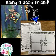 2nd Grade Stuff: A Peek at My Week: The First Days of School {FREEBIE}