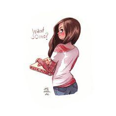 Pizza?watercolor